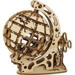 Mr. PlayWood modelbouwset Wereldbol 17,5 x 18,5 cm hout 125 delig