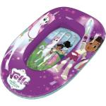 Nickelodeon opblaasboot Nella de Ridder Prinses 90 cm PVC paars