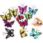 NuobestY 30 stuks vlinder punaises decoratieve priknaalden punaises steekspelden Thumb tacks kaart spijkers kaartpennen voor kantoor school meubels kurk landkaart prikbord