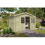 Outdoor Life Products | Tuinhuis Norah 275 x 275 | Geïmpregneerd | Olijfgroen