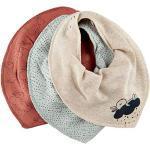 Pippi Uniseks bib bandana voor kinderen, één maat, verpakking van 3 stuks, redwood, One Size