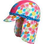 Playshoes Meisjesbadmuts bloemenzee met uv-bescherming, meerkleurig (pink 18), M (Fabrikant maat: 51 cm)