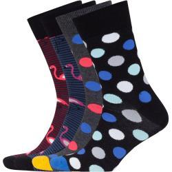 Plus size : Jack & Jones, 3-pack of socks with a stylish pattern in a Blue Plussize: