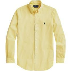Gele Ralph Lauren Polo Overhemden  button down voor Heren