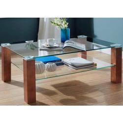 PRO Line salontafel koperkleur, naar keuze rechthoekig of vierkant