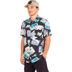 Quiksilver Vacancy Shirt zwart Gr. M Overhemden