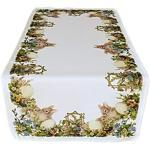 Raebel Tafelkleed tafelkleed Pasen tafeldecoratie lente paashaas nostalgie paasdecoratie polyester (tafelloper 40x90 cm)