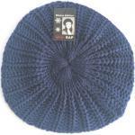 Rap Fashion baret France dames wol marineblauw one size