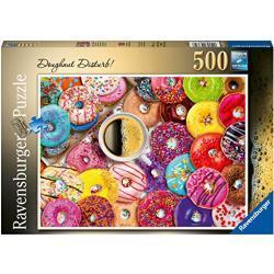 Ravensburger puzzel Doughnut Disturb 500 stukjes - Legpuzzel - 500 stukjes