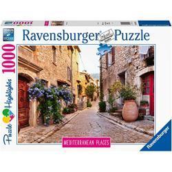 Ravensburger puzzel Frankrijk - legpuzzel - 1000 stukjes, geel