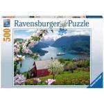 Ravensburger puzzel Landschap - 500 stukjes