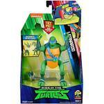 Rise of the Teenage Mutant Ninja Turtles 81401 ROTMNT-Deluxe Leonardo achteruit Salto Attacke Deluxs actiefiguur, meerdere kleuren