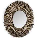 Ronde spiegel van riet 60x60cm Kave Home Takashi