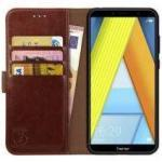 Rosso Element Honor 7A Hoesje Book Cover Bruin