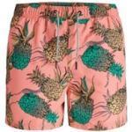 SALE Jack & Jones zwembroek roze print Plus Size