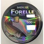 Specitec Lijn- vislijn monofil - doelvislijn voor forel - snoek - snoekbaars - karpers - kabeljauw - witte vis (forel, 0,25 mm)
