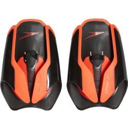 speedo Fastskin Handpaddel, zwart/oranje 2021 Zwemaccessoires