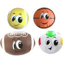 Stamp sportballenset 4 delig