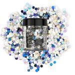 Stargazer Chunky Glitter Shaker, Holo. Cosmetische glitter voor gebruik op de ogen, lippen, gezicht, lichaam, haar en nagels.