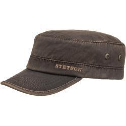 Stetson Datto Winter Army Cap bruin