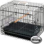 Strong Reiskooi voor vogels Light 33x45x39 cm zwart 99036