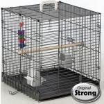 Strong Reiskooi voor vogels Traveller 46x48x52 cm zilvergrijs 99034