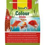 Tetra Pond Colour Sticks – visvoer voor vijvervissen, voor natuurlijke kleurpracht en helder water, verschillende Maten.