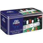Texas Hold'em Poker Set in Tin