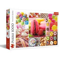 Trefl TR10469 Bonbons, collage 1000 stukjes, premium kwaliteit, voor volwassenen en kinderen vanaf 12 jaar, puzzel, gekleurd