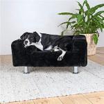 Trixie 37941 hondenkoning sofa, 78 × 55 cm, zwart