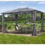 Tuinpaviljoen 3x4m Polycarbonaat Panelen 8 mm Loft grey waterdicht Paviljoentent, Paviljoen