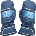 Ultrasport Basic Starflake Ski-wanten voor kinderen, marineblauw/Victoria-blauw, 6-8 jaar