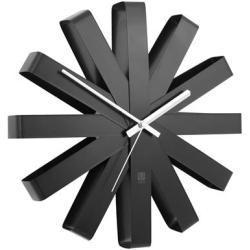 Umbra Ribbon Wandklok à 30 cm - Zwart