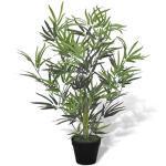 vidaXL Kunstplant met Pot Bamboe 80 cm Kunst Kamer Plant Nepplant Sierplant