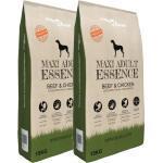 vidaXL Premium hondenvoer Maxi Adult Essence Beef & Chicken 30 kg 2 st