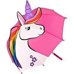 VON LILIENFELD Kinderparaplu Eenhoorn Roze Unicorn Paraplu Kind Jongen Meisje Pink tot ca. 8 jaar