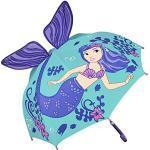 VON LILIENFELD Kinderparaplu Zeemeermin Mermaid Paraplu Kind Jongen Meisje tot ca. 8 jaar Nixe