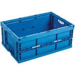 Vouwkrat blauw - 42 en 54 L