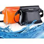 Yoassi 2 stuks waterdichte tasjes voor watersport, strand, zwemmen, boottochten, beschermhoes strandtas