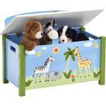 Zeller Present - Speelgoedkist en bank Safari
