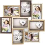 Zep collagelijst Montreaux 44,5 x 44,5 cm hout bruin/crème