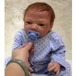 ZIYIUI Realistische 50cm Babypoppen Reborn Babypop Jongen Siliconen Poppen Echt Levensechte 20 inch Reborn Baby Poppen Reborn Dolls kinderen kerstcadeaus Speelgoed